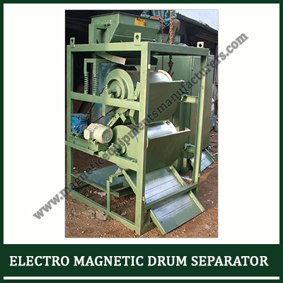 Electro magnetic drum separator Supplier