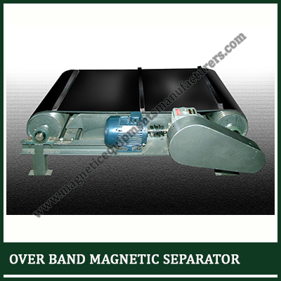 OVER BAND MAGNETIC SEPARATOR SUPPLIER